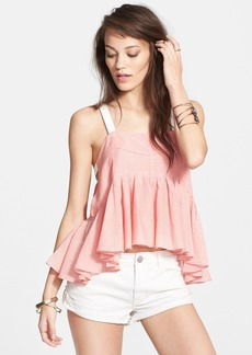 Free People 'Lola's' Stripe Peplum Tank