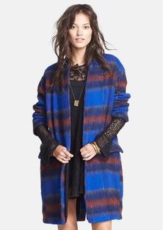 Free People 'Long & Lean' Overcoat