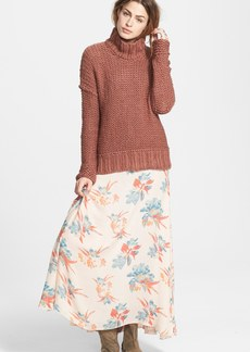 Free People 'Long Summer' Funnel Neck Sweater