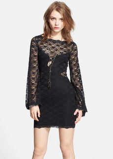 Free People 'Lovely in Lace' Body-Con Dress