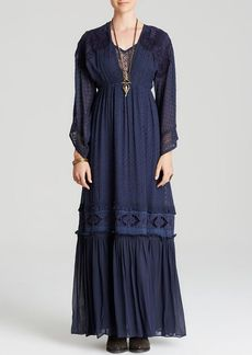Free People Maxi Dress - Voila Embroidered