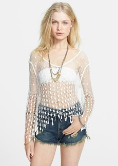 Free People 'Mermaid' Crochet Top