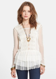 Free People 'Midnight Memories' Lace Top