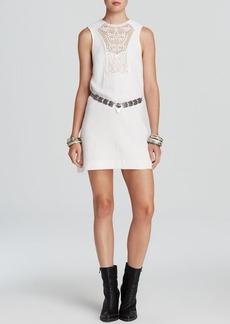 Free People Mini Dress - Solid Maribelle