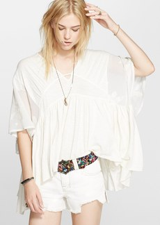Free People 'New World' Caftan Blouse
