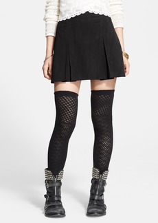 Free People Open Knit Thigh High Socks