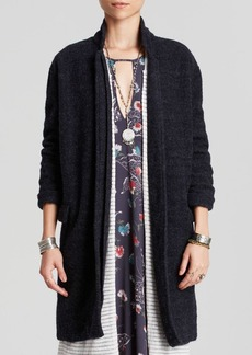 Free People Overcoat - Solid Long and Lean