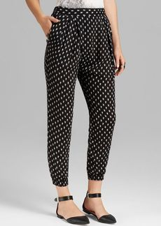 Free People Pants - Crossover Printed