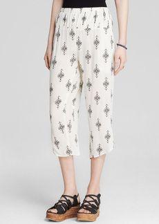 Free People Pants - Printed Gauze Diamond Harem