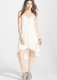 Free People 'Parisian' Lace Trim Slipdress