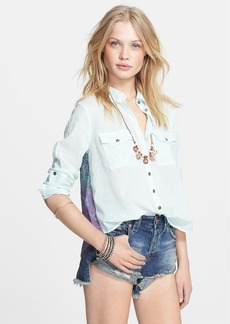 Free People 'Party in the Back' Long Sleeve Shirt