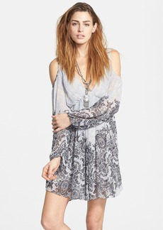 Free People 'Penny Love' Print Cold Shoulder Dress