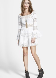 Free People 'Pippa' Gauze Fit & Flare Dress