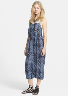 Free People Print Harem Jumpsuit