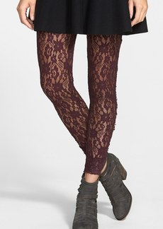 Free People Pucker Lace Leggings