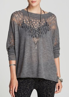 Free People Pullover - Pointelle Ballet