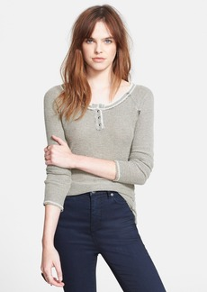 Free People 'Rag Tag' Henley Pullover