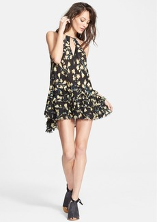 Free People Raw Ruffle Tunic Dress