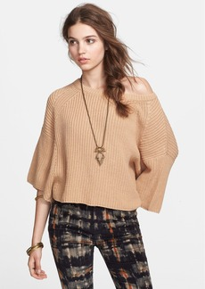 Free People 'Rayanne' Ballet Neck Sweater