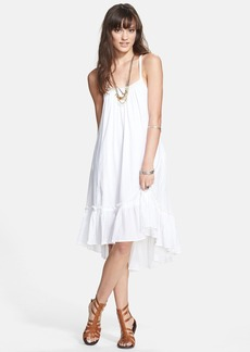 Free People Ruffle Hem Trapeze Dress