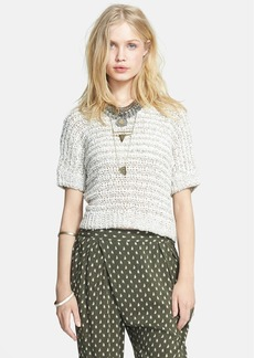 Free People 'School Boy' Chunky Knit Crop Sweater