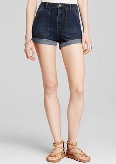Free People Shorts - Hi-Rise Cuffed