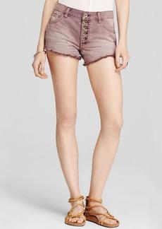 Free People Shorts - Rugged Denim