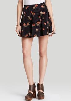 Free People Skirt - Good Day Sunshine Printed Cord