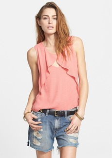 Free People 'Slubbed Out' Crinkle Top
