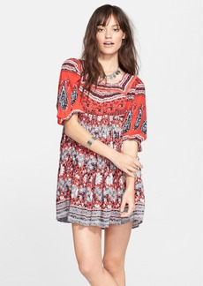 Free People 'Snap Out of It' Print Dress