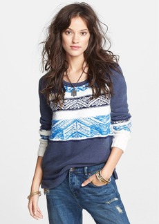 Free People 'Snow Angel' Cotton Pullover