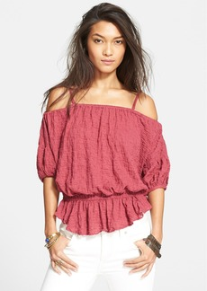 Free People 'Solid Shades of Cool' Blouse
