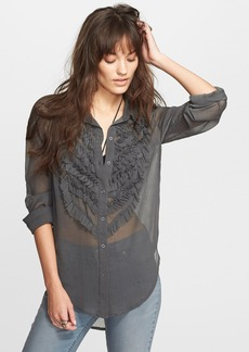 Free People Solid Tux Top