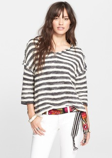 Free People 'Spells Trouble' Stripe Pullover