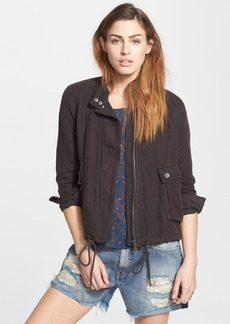 Free People Sporty Double Cloth Jacket
