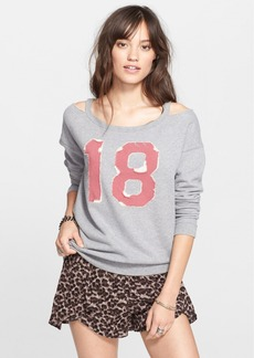 Free People 'Stadium' French Terry Sweatshirt