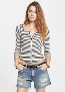 Free People 'Stars & Stripes' Stripe Thermal Top