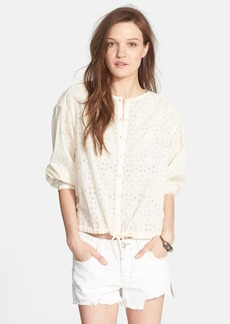 Free People 'Stars Align' Button Front Top
