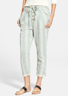 Free People Stripe Beach Trousers