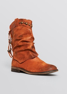 Free People Studded Slouch Booties - Wayland
