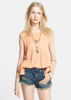 Free People 'Summers End' Lattice Cutout Tank