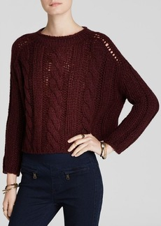 Free People Sweater - Maribel Cable