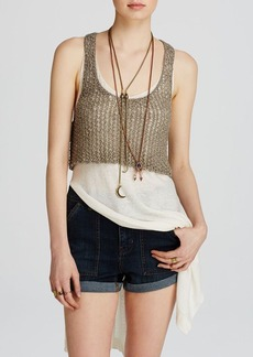 Free People Sweater - Two Tone Twofer