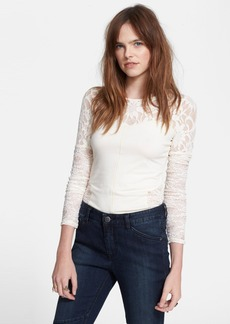 Free People 'Sweet Thang' Lace Top