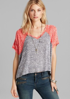 Free People Tee - Dancing in the Rain Hacci