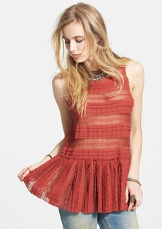 Free People Textured Lace Camisole