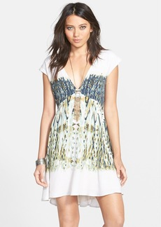 Free People 'Theodora' Print Babydoll Dress