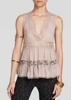 Free People Top - Deep V Trapeze