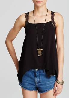 Free People Top - Lace Strap