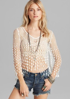 Free People Top - Mermaid Lace